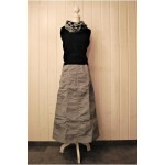Shirred with Pockets Maxi